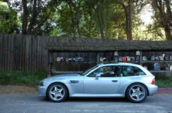 1999 Arctic Silver over Dark Gray in Laurel Canyon, CA